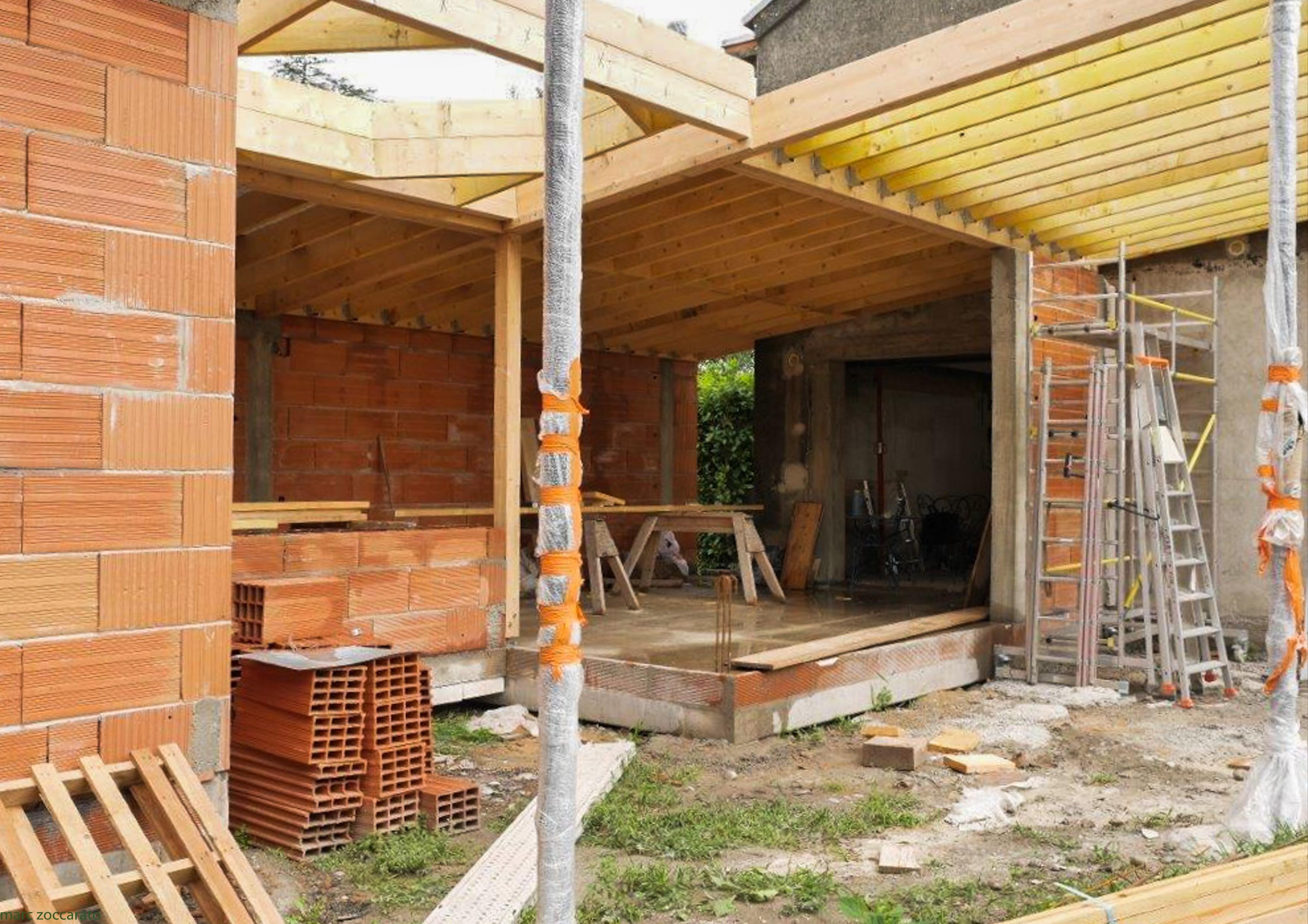 extension en construction bois et r novation tournefeuille tilt architectes alu sud. Black Bedroom Furniture Sets. Home Design Ideas